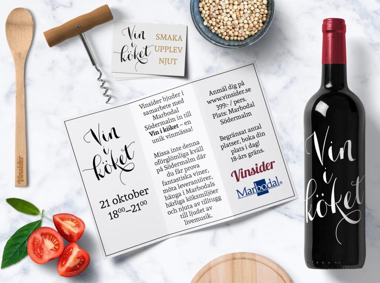 vin i köket