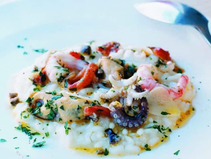 skaldjursrisotto Risotto Frutti di Mare recept