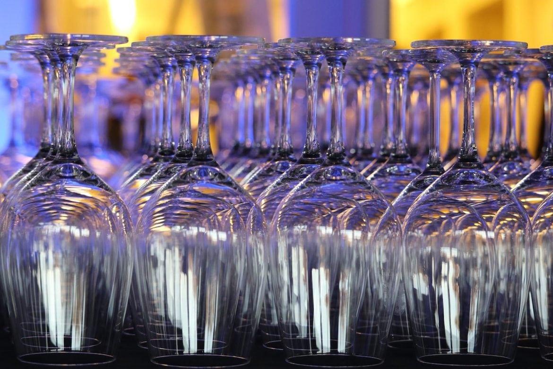 champagneprovning flaskor